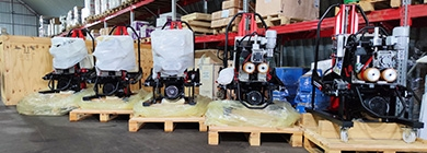 Отгрузка автоматических кромкорезов для строительства зарубежного объекта Ростатома