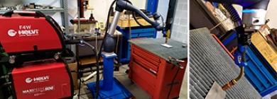 Специалисты компании Векпром совершенствуют знания по настройке и программированию коллаборативных роботов.