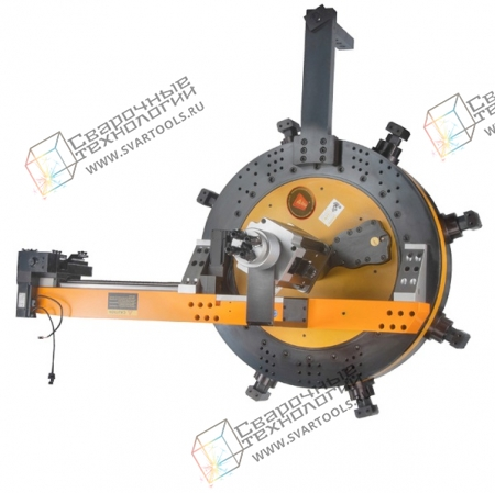 Машина для обработки фланцев большого диаметра (внутренняя установка)