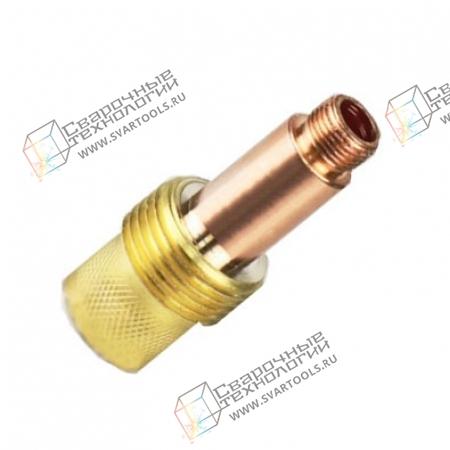 Держатель цанги Foxweld D=4,0 мм (TIG17/18/26) газовая линза