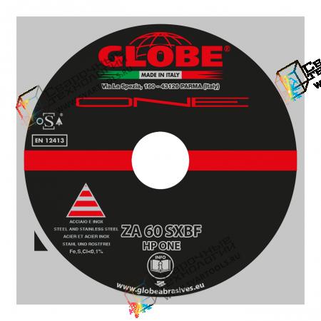 "Плоский отрезной круг Globe ""ONE"" ZA-60-SXBF"