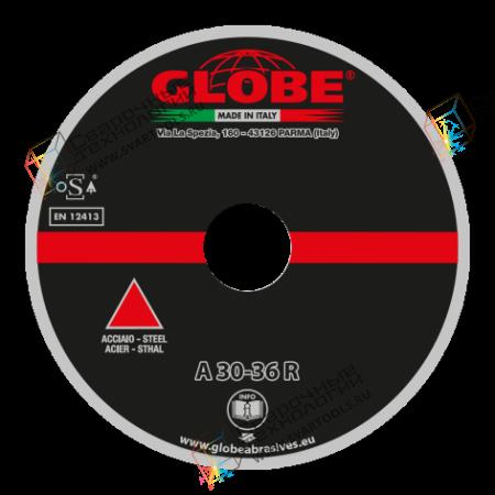 Отрезной диск с утопленным центром Globe A-30/36-R