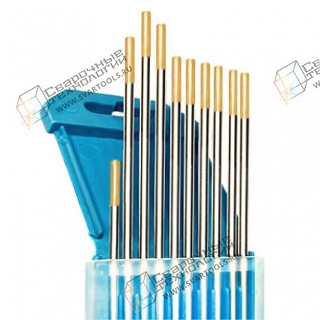 Электроды вольфрамовые WL-15 d=3,0 мм (золотистый)