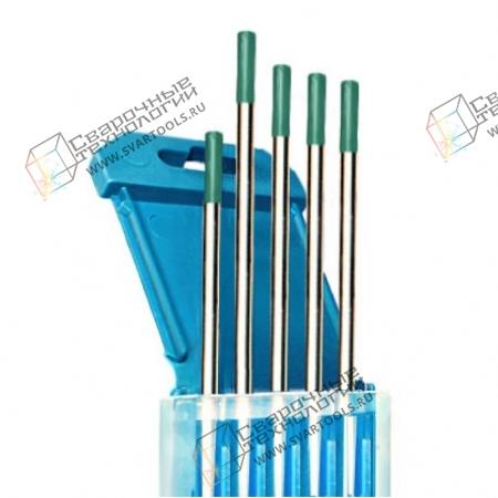 Электроды вольфрамовые WP d=4,0 мм (зелёный)