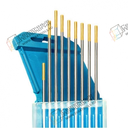 Электроды вольфрамовые WL-15  d=1,6 мм (золотистый)