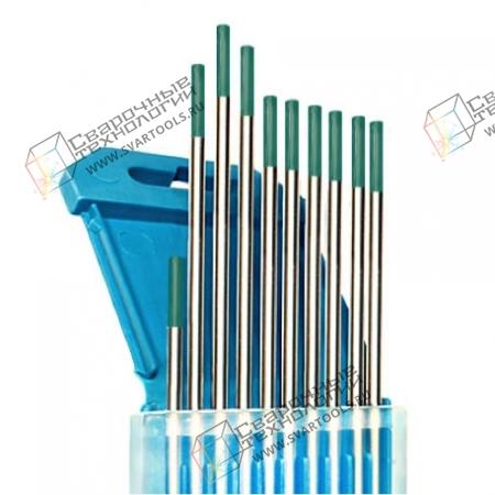 Электроды вольфрамовые WP d=2,4 мм (зелёный)
