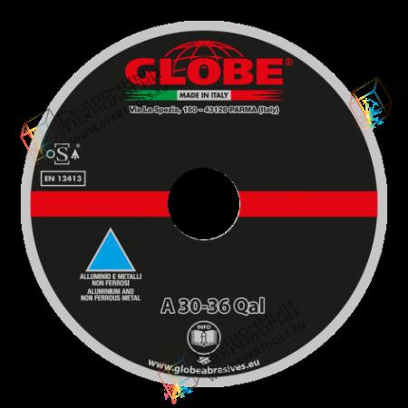 Круг для резки цветных металлов Globe A-30/36-Qal