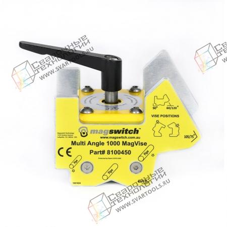 Магнитные тиски + угольник Magswitch MagVise 1000
