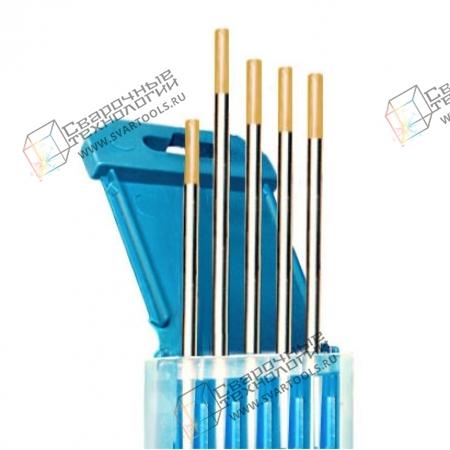 Электроды вольфрамовые WL-15 d=4,0 мм (золотистый)