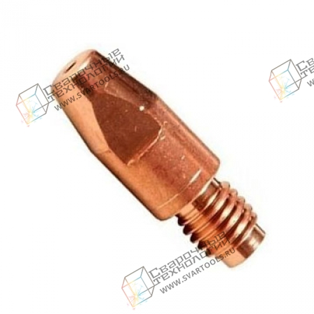 Контактный наконечник Abicor Binzel E-Cu M6 D=1,6/L=28,0 мм