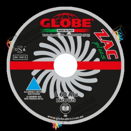 """Плоский отрезной круг Globe """"ZAC"""" A-60-Alu"""
