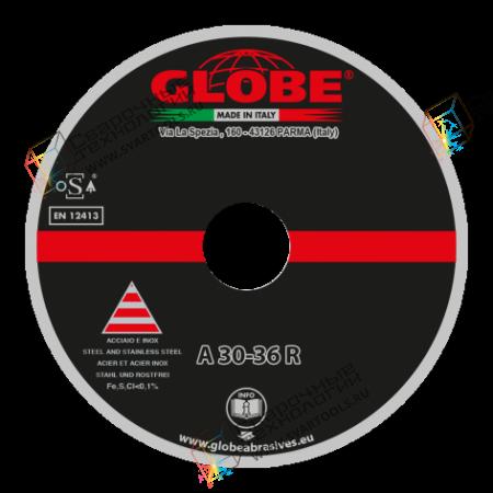 Отрезной круг для стационарных машин Globe A-30-36-R