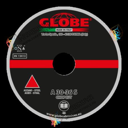 Отрезной круг для легких стационарных машин Globe A-30-36-S