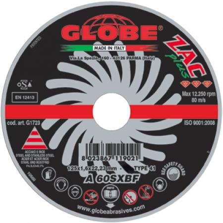 Плоский отрезной диск Globe A-60-S ZAC