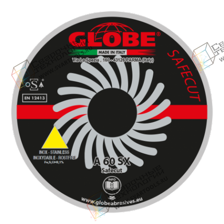 Отрезной диск Globe A-60-SX Safecut