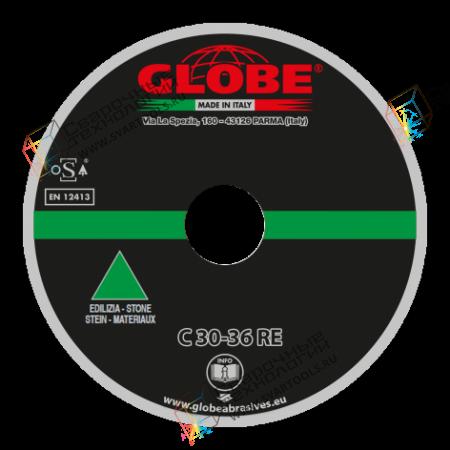 Плоский отрезной круг Globe C-30/36-RE