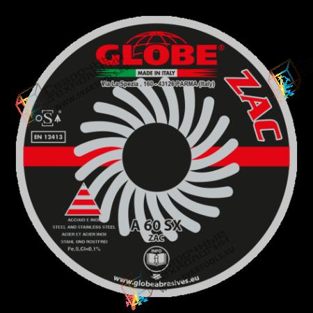 Плоский отрезной круг Globe A-60-SX ZAC