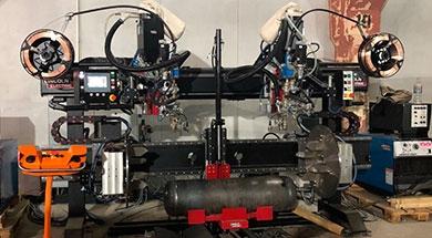Проект по автоматизации сварки кольцевых швов ресиверов